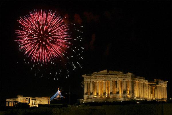 Подарки на новы год в греции