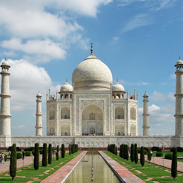 Посетить Тадж-Махал в Индии