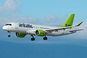 Самолёт компании AirBaltic, авиапарк AirBaltic
