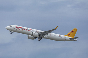 Самолёт компании Pegasus Airlines, авиапарк Pegasus Airlines