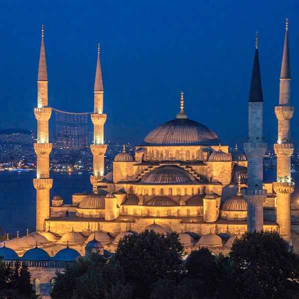 Посетить мечети в Турции, Голубая мечеть