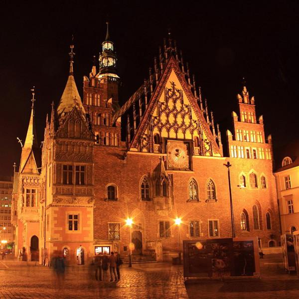Путешествие по Польше, ночная Польша, предновогодня Польша, множество новых ощёщений