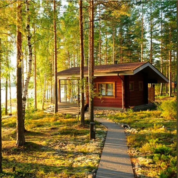 Отдых в Финляндии, удобные и приятные домики для отпуска