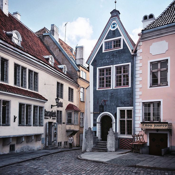 Старый Таллин, старые города Эстонии