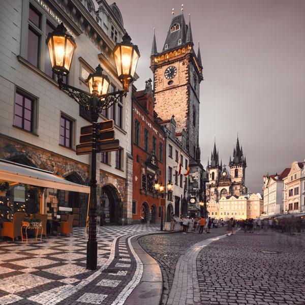 Путешествие по городам Чехии, старые города, красивая архитектура