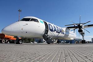 Самолёт компании QAZAQ AIR, авиапарк FlyArystan