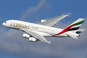 Самолёт Emirates Airlines