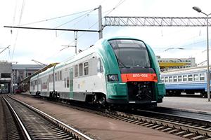 Поезд компании Белорусская железная дорога, Беларуская чыгунка