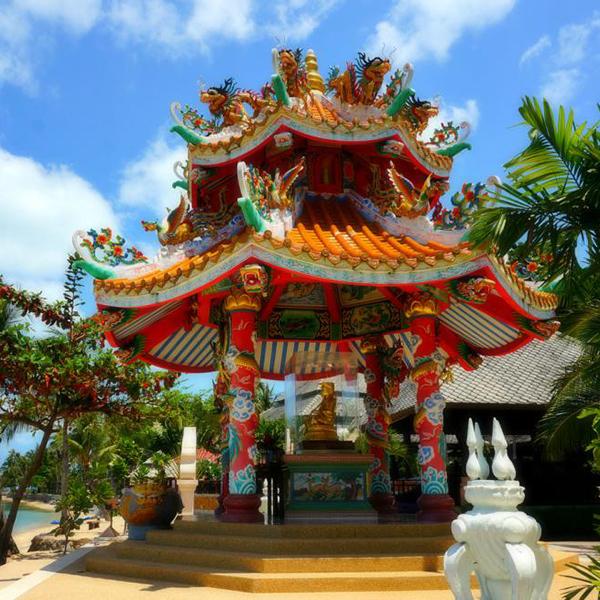 Посетить храмы в Таиланде, красивые домики