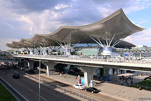Аэропорт в Борисполе