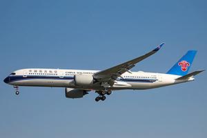 Самолёт компании China Southern Airlines, авиапарк China Southern Airlines