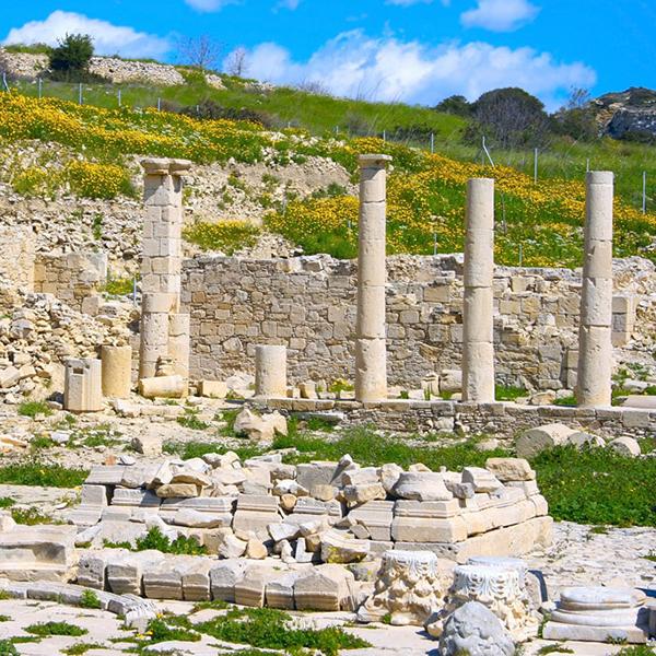 Посетить древние города на Кипре, город Аматус