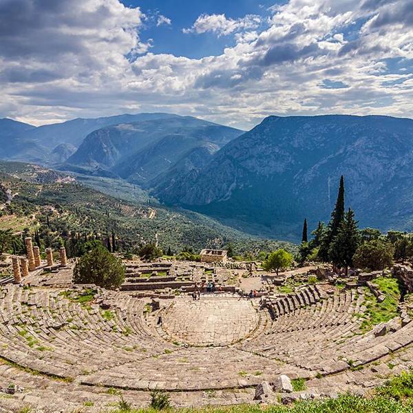 Путешествие по древним городам Греции Дельфы
