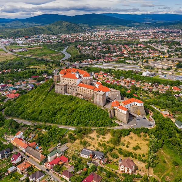Красивые города Украины, Мукачево, замки на Украине