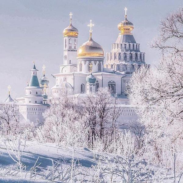 Путешествие по зимней России