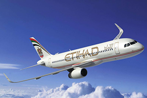 Самолёт компании Etihad Airways, авиапарк Etihad Airways