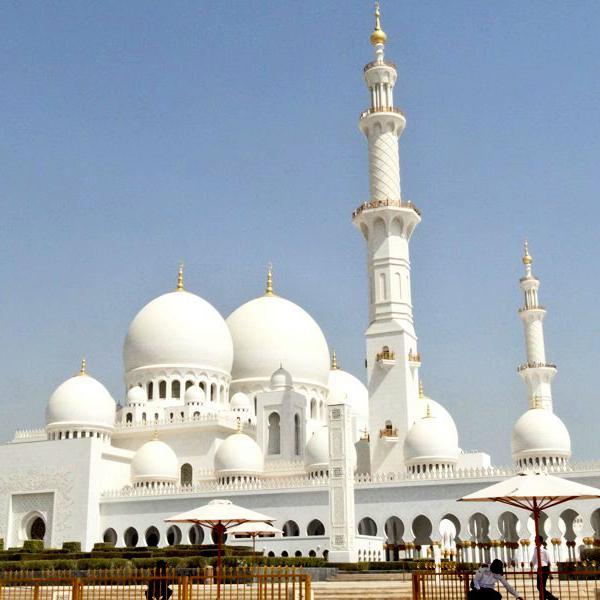 Мечеть шейха Зайда, самые красивые мечети в Арабских Эмиратах