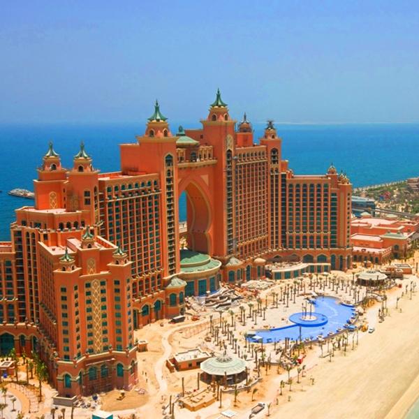 Курортный комплекс Atlantis The Palm, посетить популярные курорты в эмиратах
