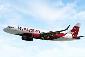 Самолёт компании FlyArystan, авиапарк FlyArystan