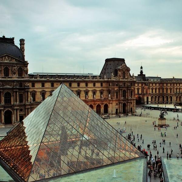 Лувр, современное искусство во Франции, Париж