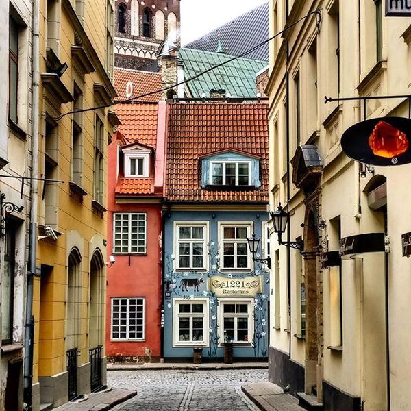 Посетить старый город (Рига) в Латвии, самые красивые места в Риге