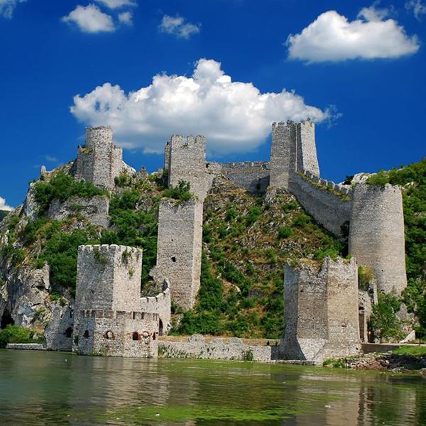 Посетить замки в Сербии, национальный парк Джердап