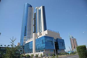 Главный офис КТЖ в Астане, улица Кунаева 6