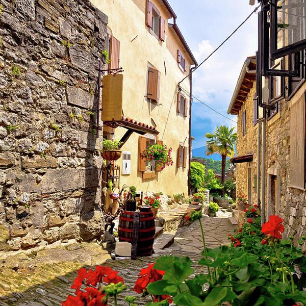 Путешествие по Хорватии, посетить маленькие и уютные деревни