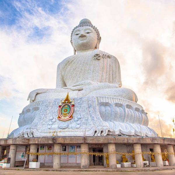 Большой Будда на Пхукете, огромные статуи Будды