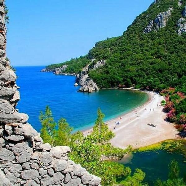 Пляжи в Турции, природа и отдых в Турции