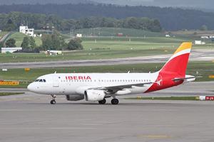 Самолёт компании Iberia, авиапарк Iberia