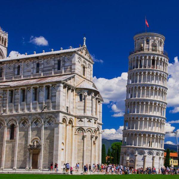 Посетить пизанскую башню, интересные места в Италии