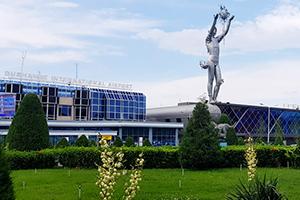 Международный аэропорт Душанбе, штаб-квартира Somon Air