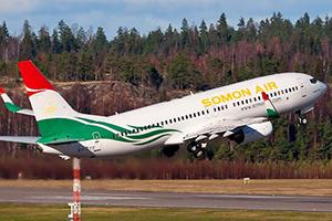 Самолёт компании Somon Air, авиапарк Somon Air