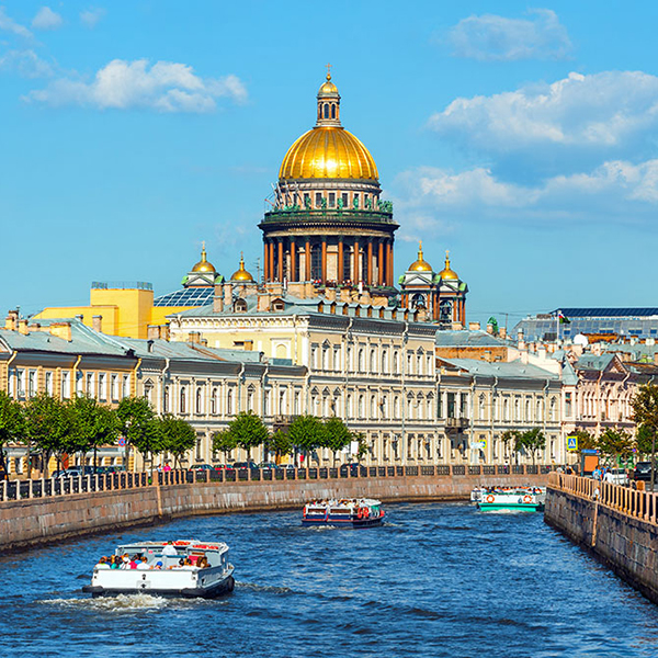 Экскурсии по Санкт-Петербургу и Москве, самые известные города России