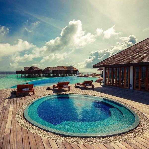 Отдых на Мальдивах, личные домики, удобство, комфорт