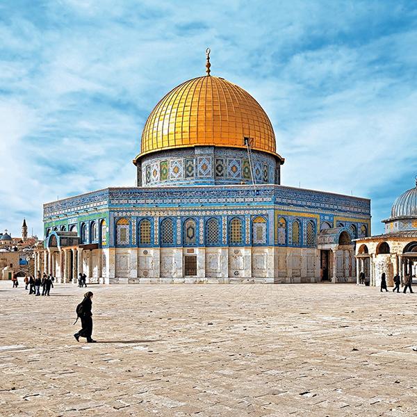 Посетить купол Скалы, мусульманские памятники архитектура в Израиле,