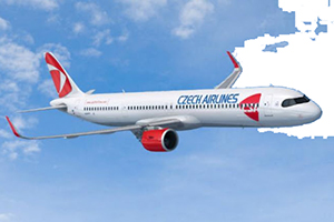 Самолёт компании Czech Airlines, авиапарк Czech Airlines