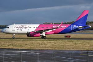 Самолёт компании Wizz Air, авиапарк Wizz Air