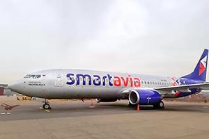Самолёт компании Smartavia, авиапарк Smartavia