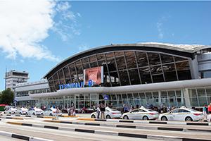 Международный аэропорт Борисполь, терминал Б, Киев, Украина