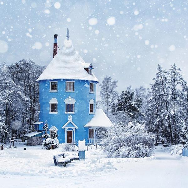 Зимний отдых в Финляндии, атмосфера нового года